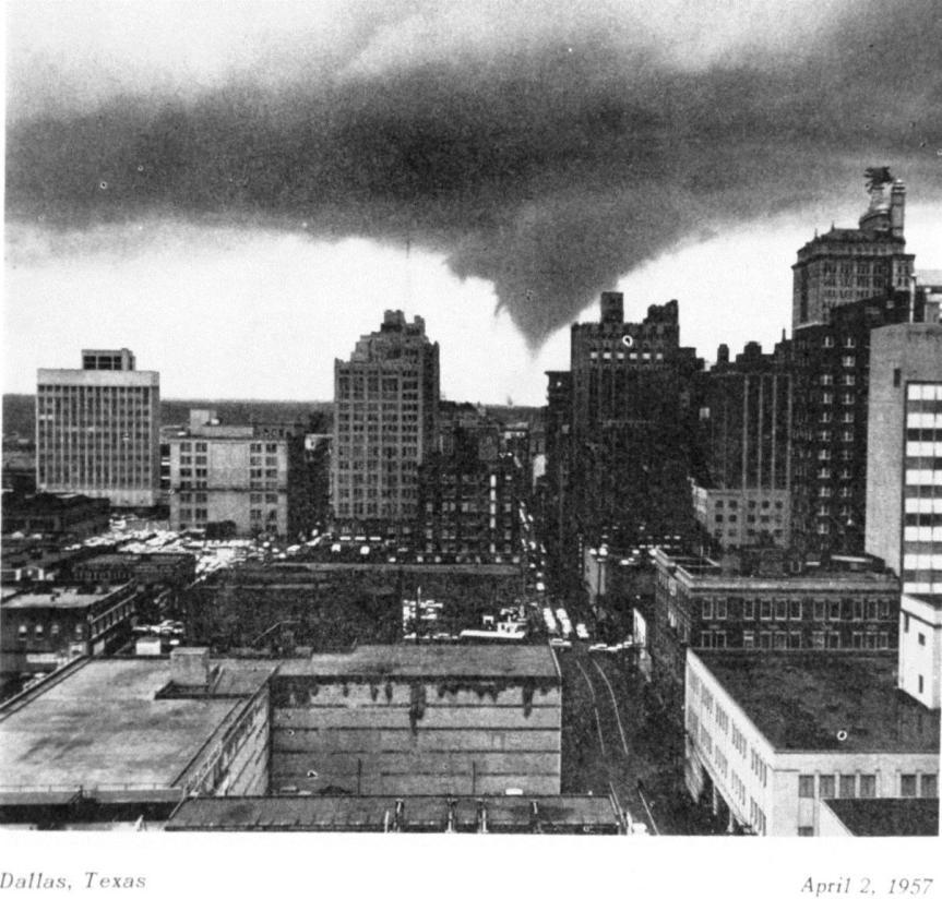 April 2, 1957 Dallas Tornado