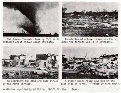 April 2, 1982 Red River Tornado Outbreak 2