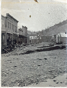 May 16, 1883 Deadwood Flooding