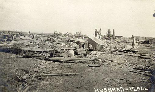 May 9, 1918 Nasha Tornado Damage